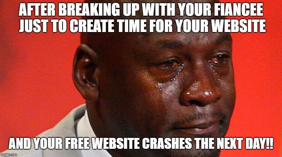 dangers of free hosting
